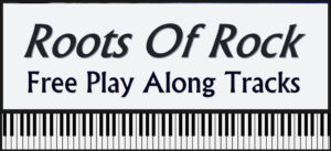 Roots of Rock for Piano free play along tracks